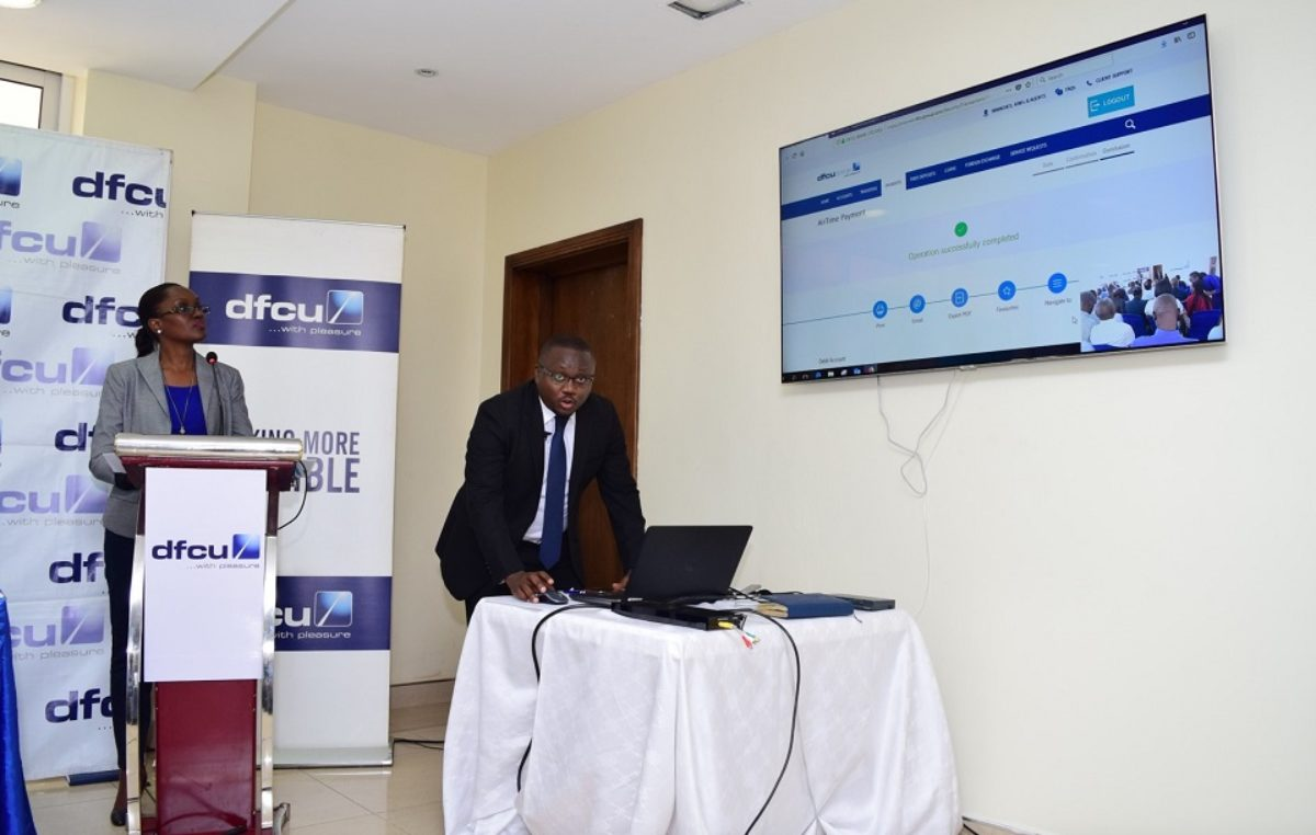 Customer-bank interaction deepened in new dfcu e-platform