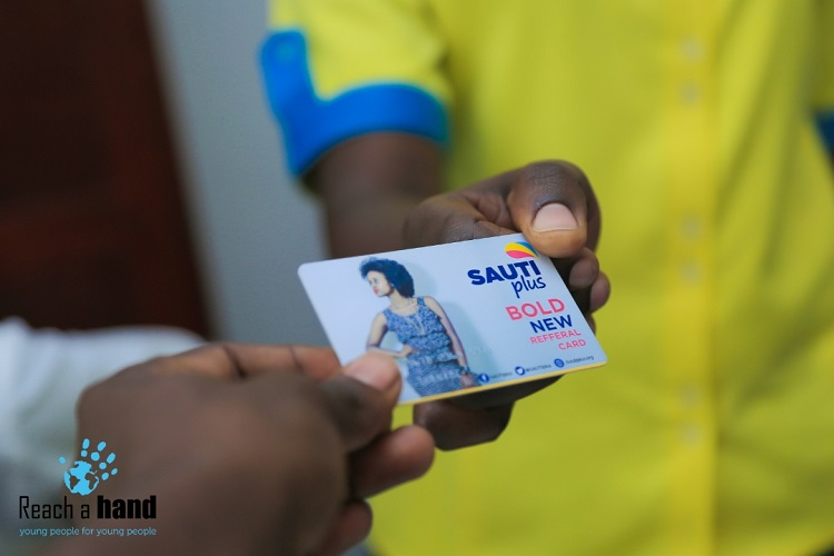 The SAUTIplus referral card