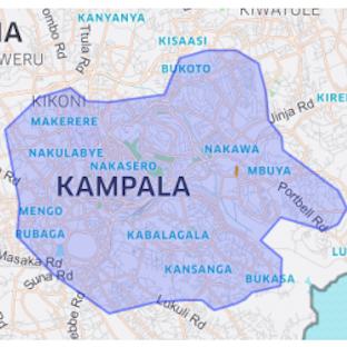 Uber coverage Uganda