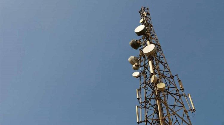 Airtel mast in Uganda