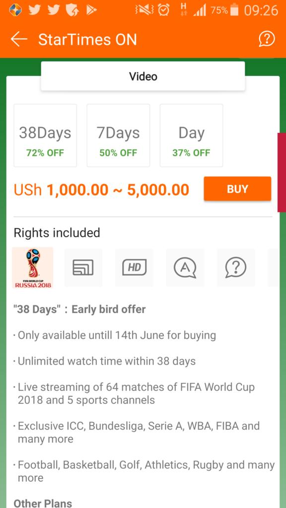 screenshot of fifa worldcup fantasy app