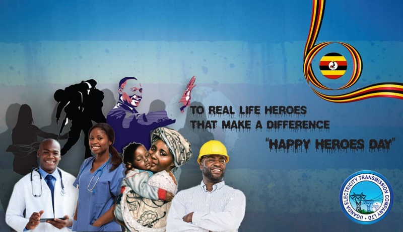 Heroes day graphic