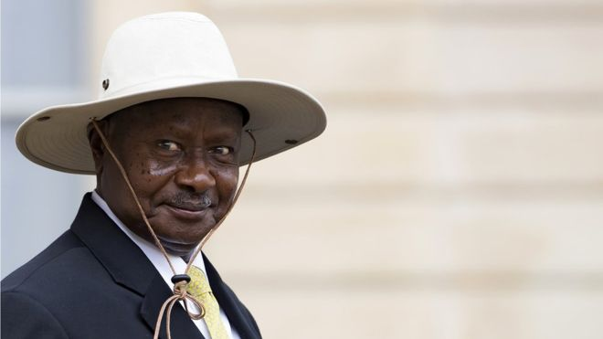 tier 3 data center Uganda Museveni on social media tax
