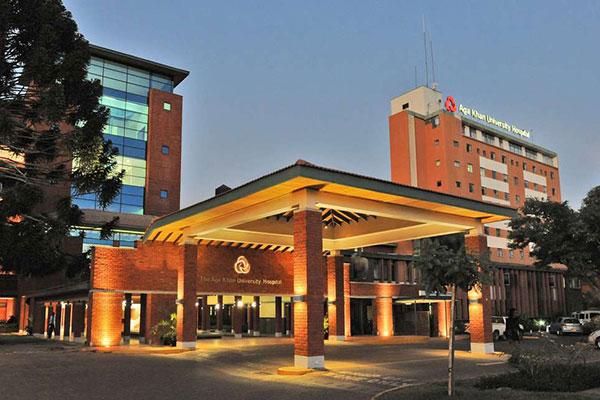 The Aga Khan University Hospital, Nairobi.