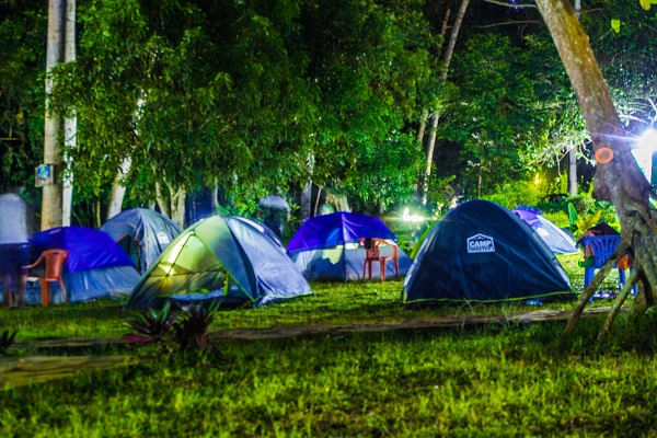 Travel Maniacs UG normally accommodate their travelers in tents to cut costs so that pay dont have to pay a lot of money to travel. Photographed by Joshua Daaki for Travel Maniacs UG