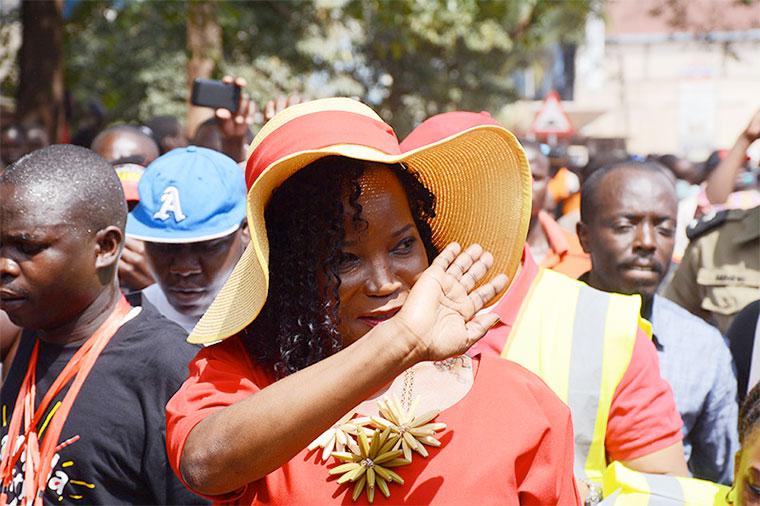 Kampala Capital City Authority (KCCA) executive director Jennifer Musisi