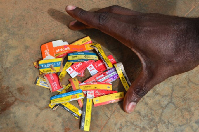 UCC bans airtime scratch cards