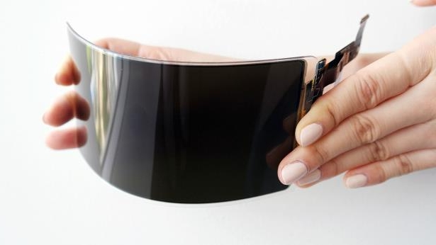 Samsung Display's unbreakable OLED screen. Photo: Samsung