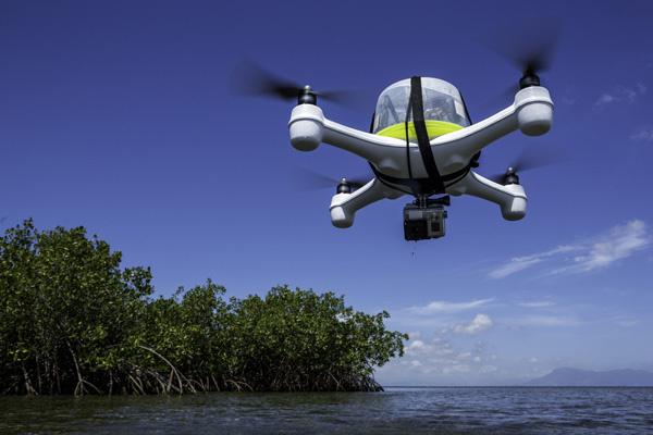 Drones in Uganda tourism