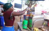 Sugarcane juice-making machine moves crowds at Jinja trade-show