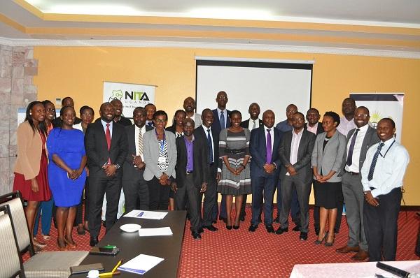 NITA-U and Uganda Bankers Association officials