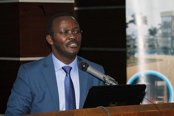 Dr. Eng Silver Mugisha, the NWSC managing director
