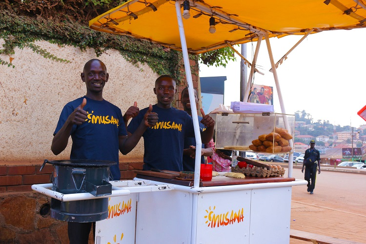 Musana Carts represented Uganda at the 2018 ASME Innovation Showcase