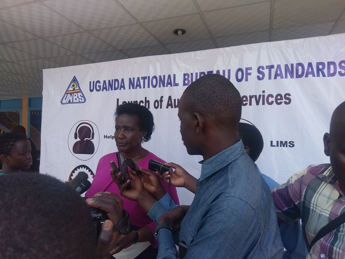 Minister of Trade and Industry Ameila Kyambadde