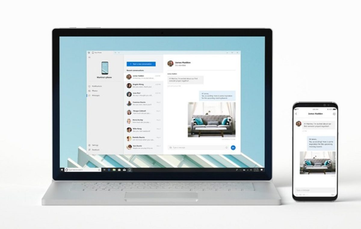 Microsoft's Your Phone app now available for all Windows 10 users