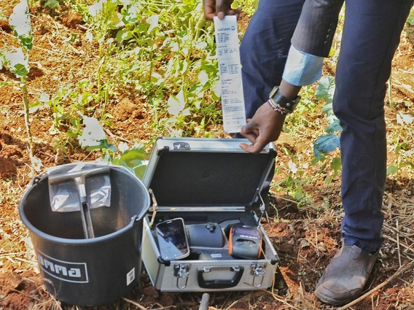 Soil testing kit Uganda