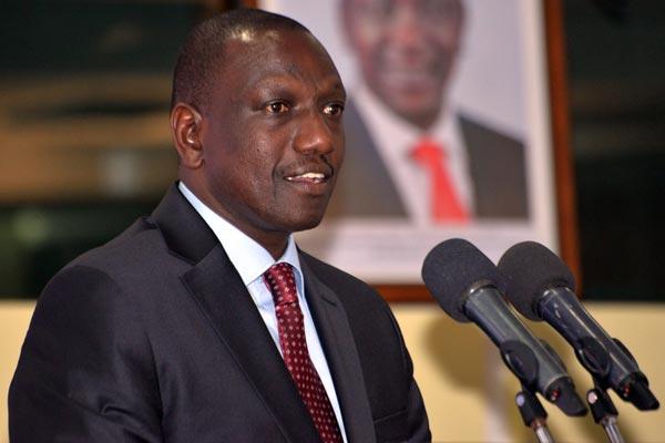 Kenya deputy President William Ruto