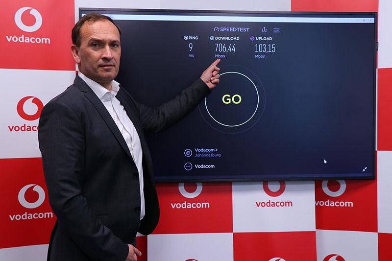 Vodacom Group CTO Andries Delport