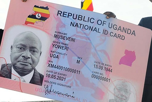 correct your National ID information Uganda