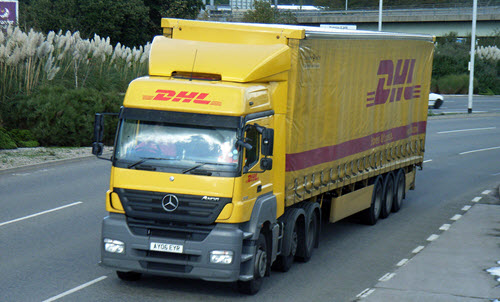 DHL workers
