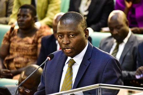 Finance Minister David Bahati