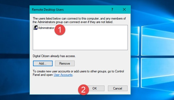 How to access someone's computer using Remote Desktop Connection