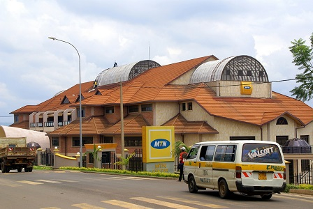 MTN Group MTN Rwanda offices in Kigali
