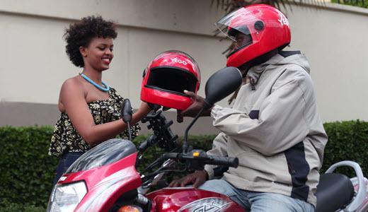 ride-hailing Rwanda cashless payments Yego Innovision