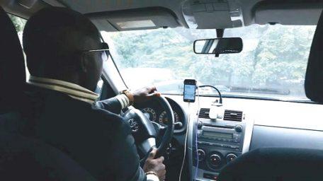 Digital taxi drivers demand increased fares