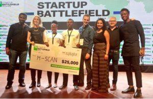 Uganda's M-Scan wins 2018 TechCrunch Startup Battlefield Africa