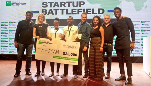 M-Scan 2018 TechCrunch Startup Battlefield Africa
