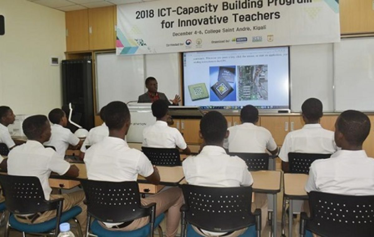 Rwanda unveils two smart classrooms as ICT project crystallizes