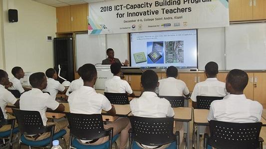 Smart classrooms Rwanda