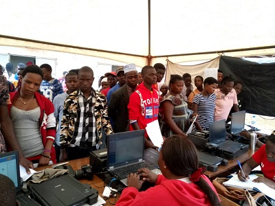 NIRA Kampala Central office national identity card registration