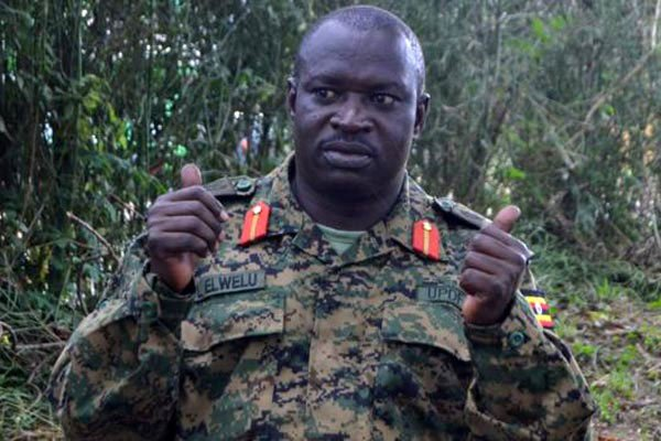 Lt. Gen. Peter Elwelu impersonated