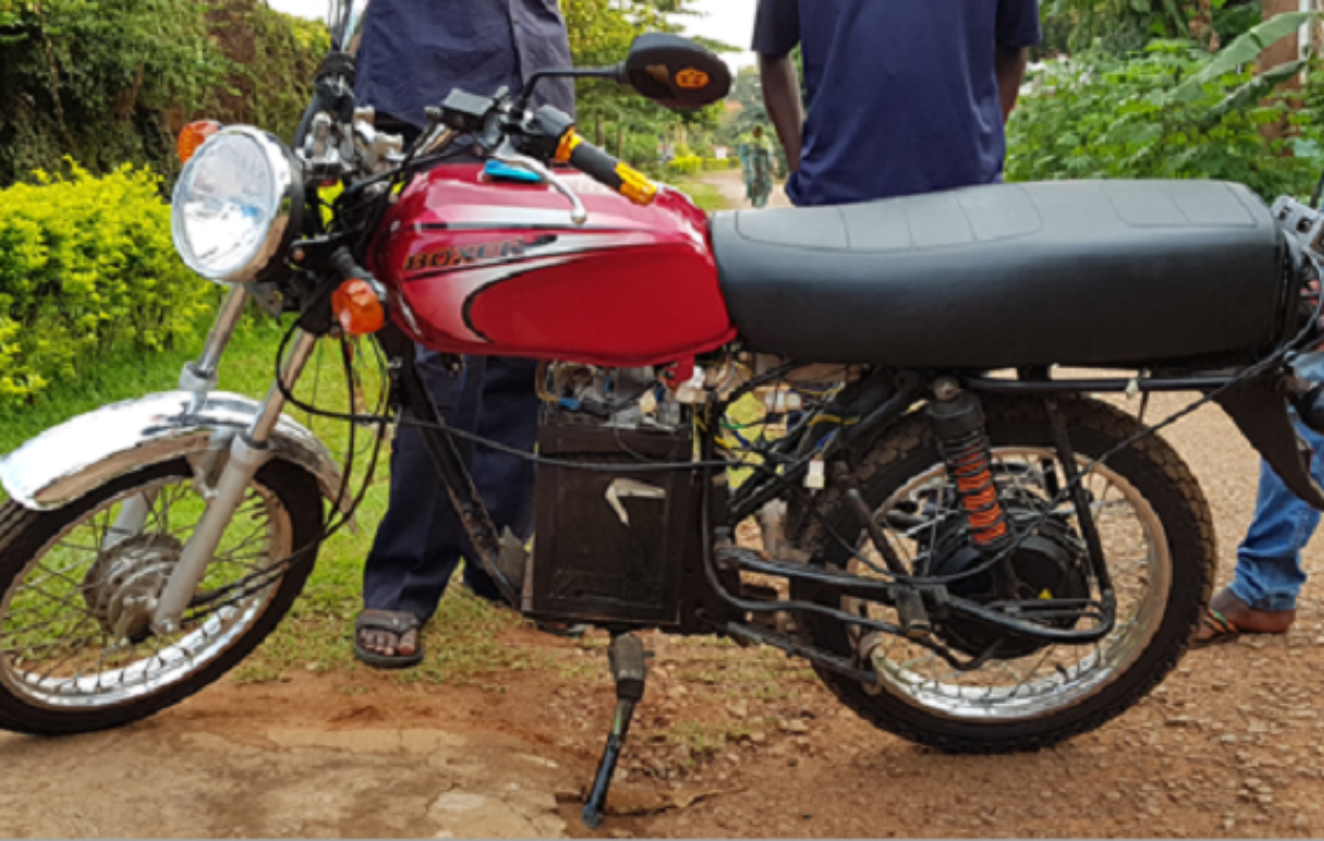 Ugandan startup Bodawerk converts gas engine bikes to electric ones
