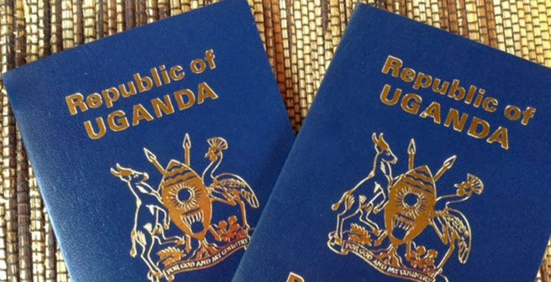 correct information on a passport in Uganda