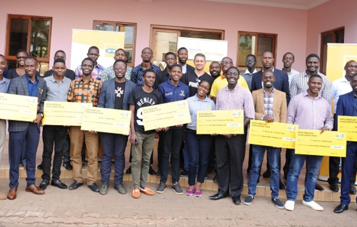 MTN Open API Challenge winners collect Shs66m to boost their apps