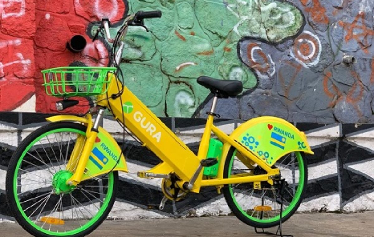 Gura introduces electric bike sharing in Rwanda
