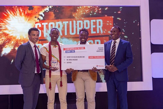 Winners 2019 Startupper of the Year Total Uganda