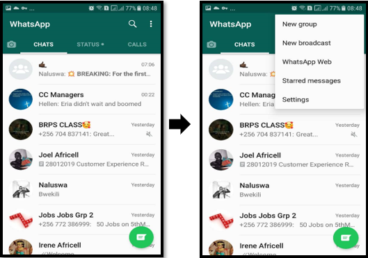 Reduce data usage on WhatsApp calls