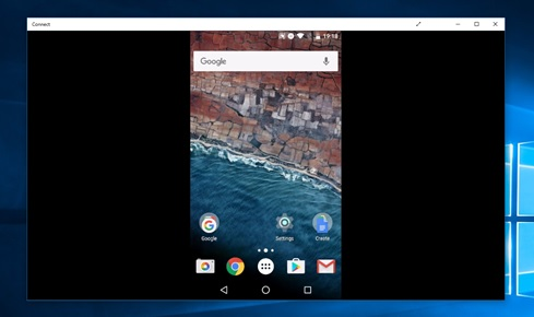 How to mirror your Android phone to Windows 10 computer
