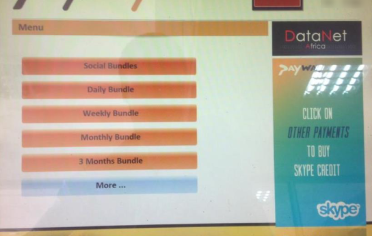 How to buy Africell SWIFT bundles using Payway PoS terminals