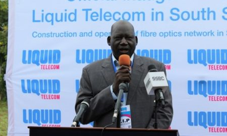 fiber network South Sudan