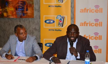MTN-Africell assisted payment