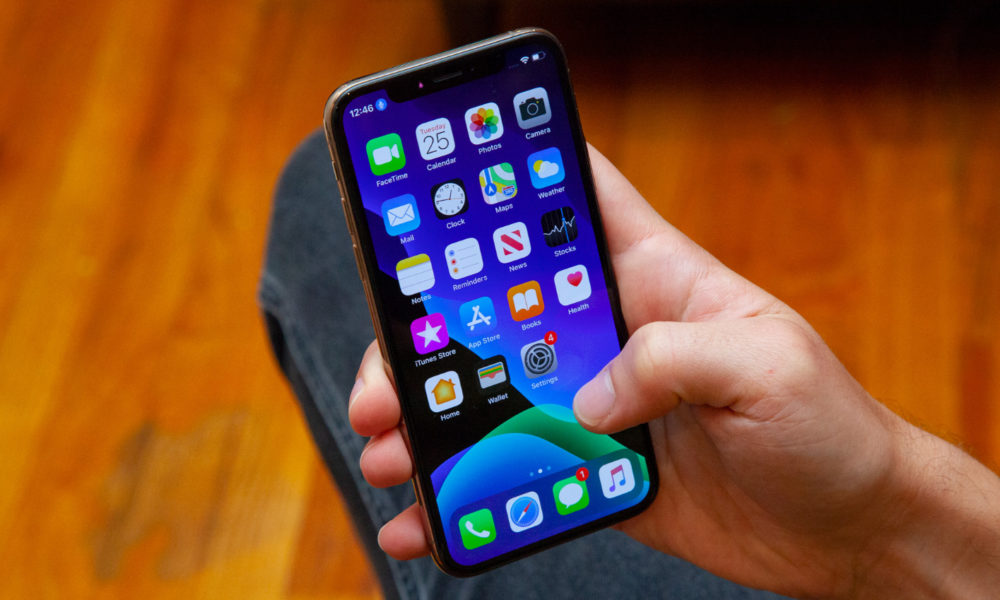 iphone with ios 13