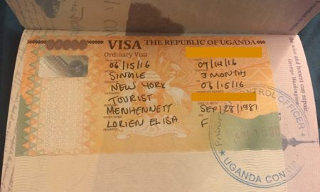getting a uganda visa is an easy step by step procedure