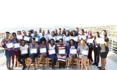 andela women in tech graduates