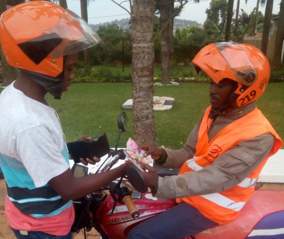 top up casless account with safeboda