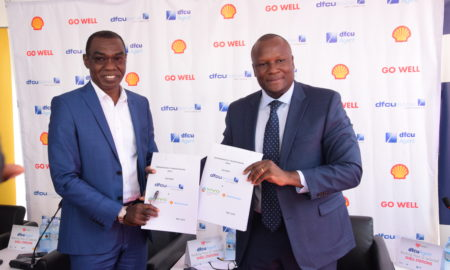 vivo energy uganda MD and dfcu bank MD